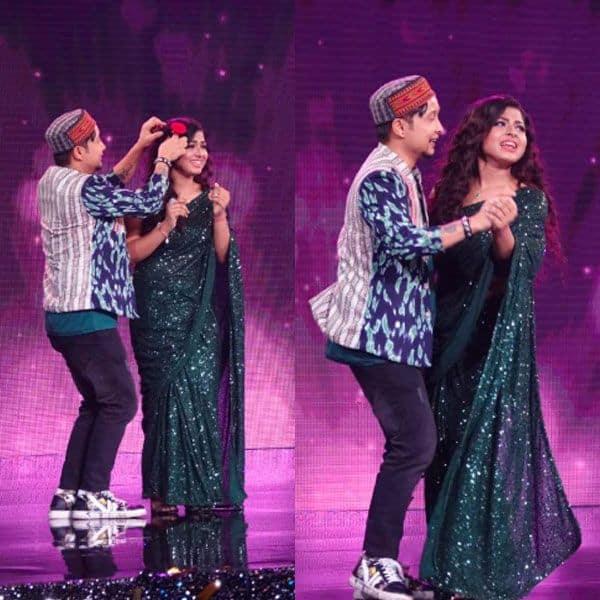 Arunita Kanjilal and Pawandeep Rajan waltz on stage