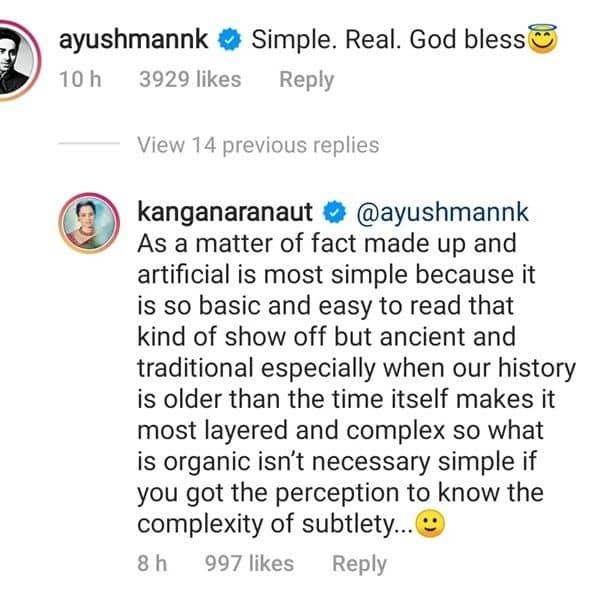 Kangana and confusion