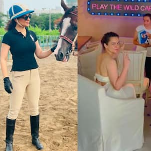 From riding horses to taking body scans; here's how Kangana Ranaut is prepping for Dhakkad and Emergency – view pics
