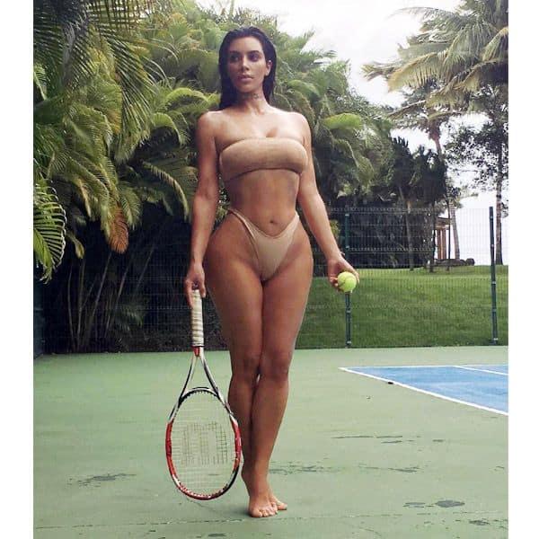 Hottest tennis player