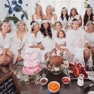 Lisa Haydon ने फैंस के साथ शेयर की Baby Shower की तस्वीरें, गर्लगैंग के साथ धमाल करती आईं नजर