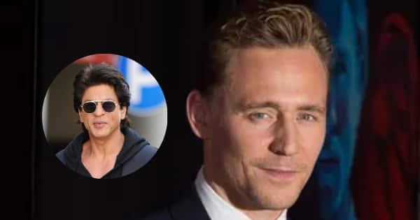 Loki's Tom Hiddleston is a MAJOR Shah Rukh Khan fan like us desi folks, and here's proof – watch video
