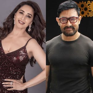 Throwback: When Aamir Khan spat on Madhuri Dixit's hand and the actress ran behind him with a hockey stick