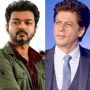 #AskSRK: A fan asks Shah Rukh Khan to describe Thalapathy Vijay in 'one word' and the Pathan star replies in his trademark style