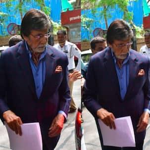 Amitabh Bachchan महीनों बाद शूटिंग के लिए निकले घर से बाहर, देखें PICS