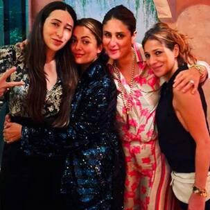 Karisma Kapoor rings in her 47th birthday with Kareena Kapoor Khan and Amrita Arora - view pic