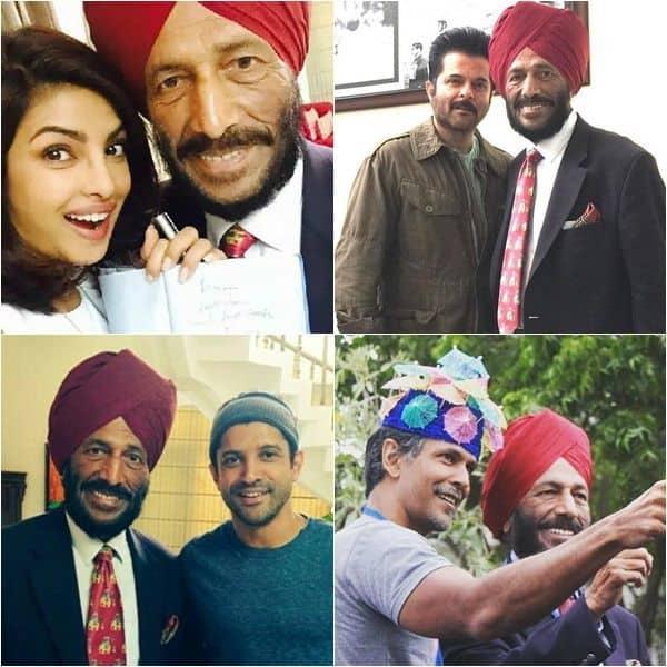 When Milkha Singh fulfilled fan moments of Bollywood stars