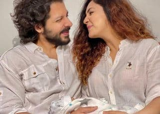 Neeti Mohan and Nihar Pandya share the FIRST picture of their son, Aryaveer