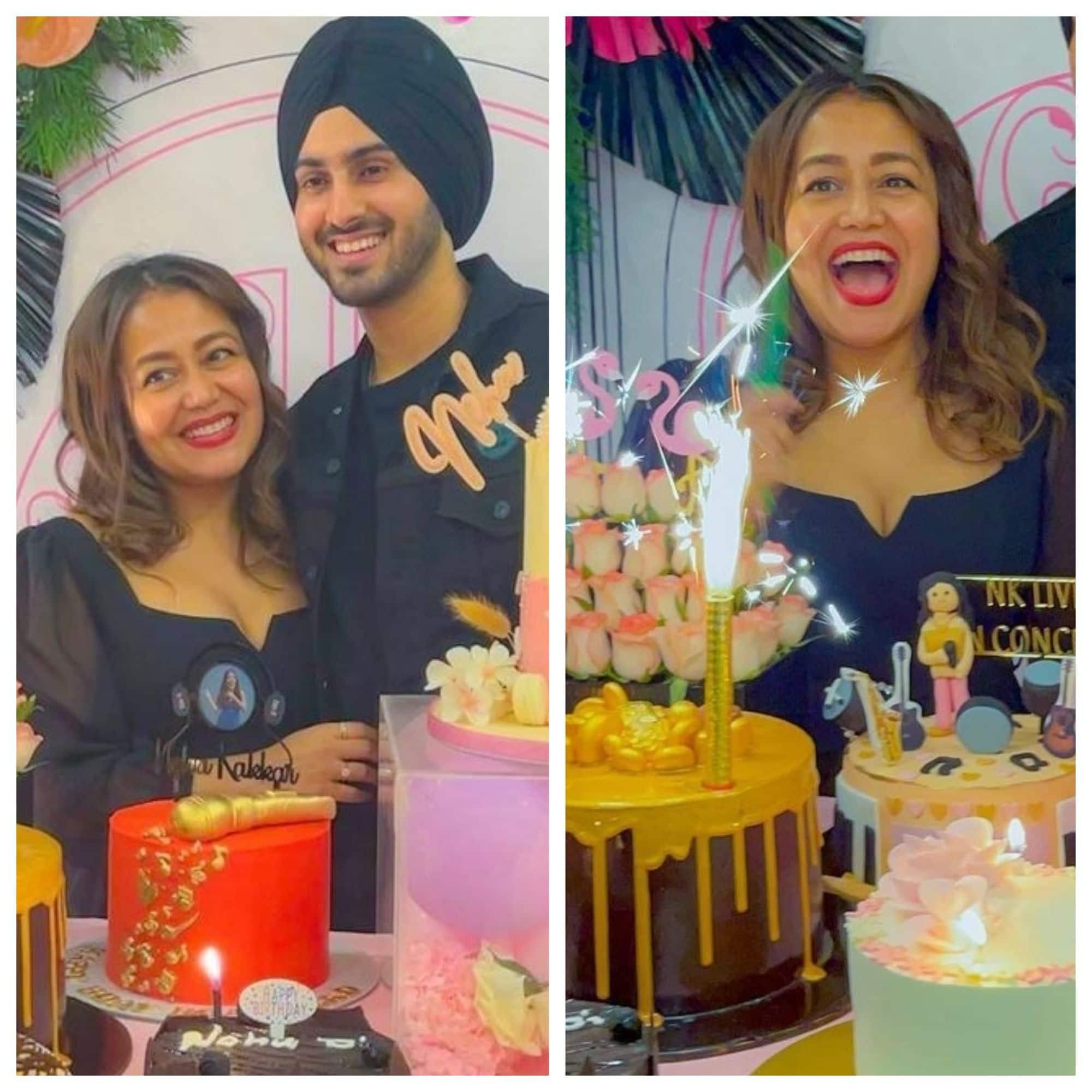 Rohanpreet ने Neha Kakkar के लिए रखी जन्मदिन की पार्टी