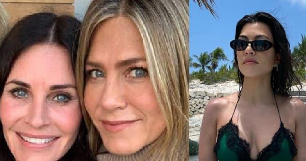 Jennifer Aniston's birthday wish for Courteney Cox's daughter, Kourtney Kardashian's bikini swag and more