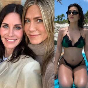 Trending Hollywood News Today: Jennifer Aniston's birthday wish for Courteney Cox's daughter, Kourtney Kardashian's bikini swag and more