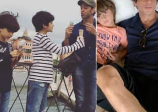 Father's Day 2021: Shah Rukh Khan, Hrithik Roshan and other stars who can easily win the title of Best Dad - view pics