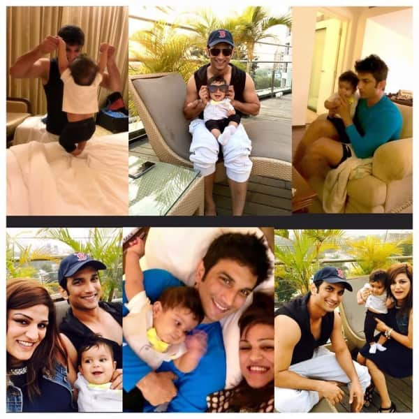 SSR's candid pics with family!