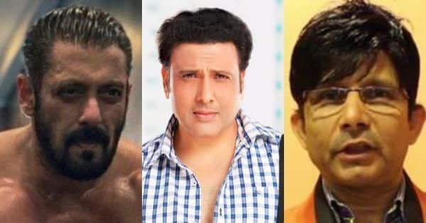 Govinda opens up after KRK thanks him for 'support' in legal fight against Salman Khan