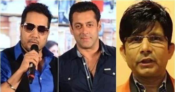 KRK takes a poll on 'Bollywood Ka Lafanga' Salman Khan and 'Chirkut Singer' Mika Singh – read deets