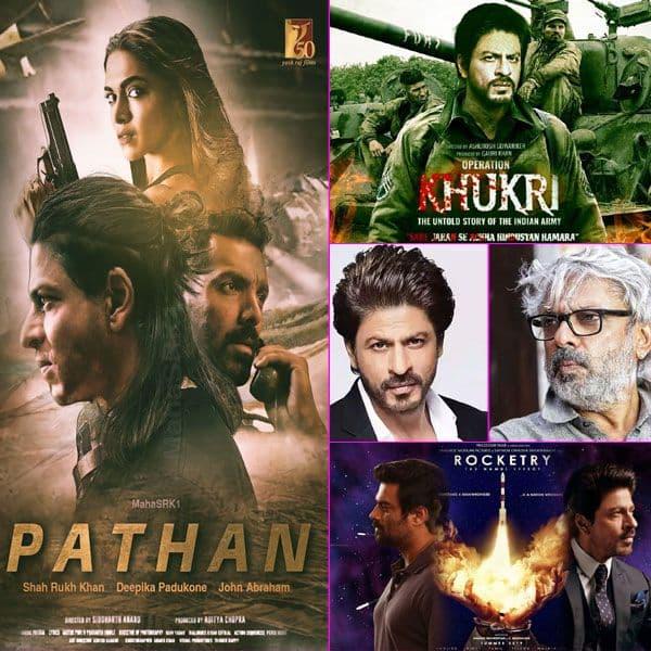 इन फिल्मों से बड़े पर्दे पर धमाका करेंगे Shah Rukh Khan