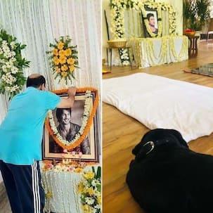 Sushant Singh Rajput की पहली डेथ एनिवर्सिरी पर पिता ने की पूजा, गम में डूबा रहा डॉगी Fudge