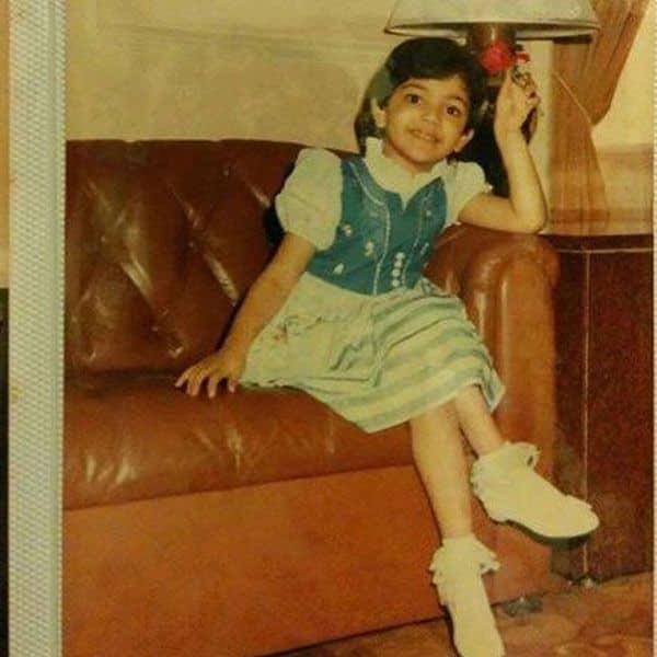 बचपन में इतनी क्यूट लगती थीं काजल अग्रवाल (Kajal Aggarwal)