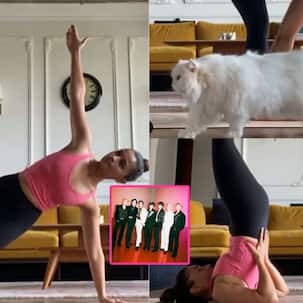 Yoga Day 2021: Alia Bhatt joins the BTS Butter fan club as she posts a fun video of her cat Edward checking out her awe-inspiring postures