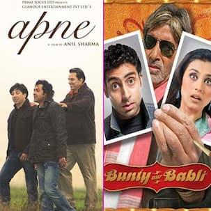 Father's Day 2021:  Apne से लेकर Munna Bhai MBBS समेत इन 5 फिल्मों दिखी बाप-बेटे की जोड़ी, देखें फोटोज
