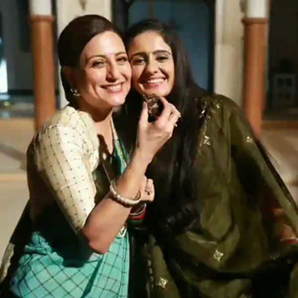 With Kishori Shahane