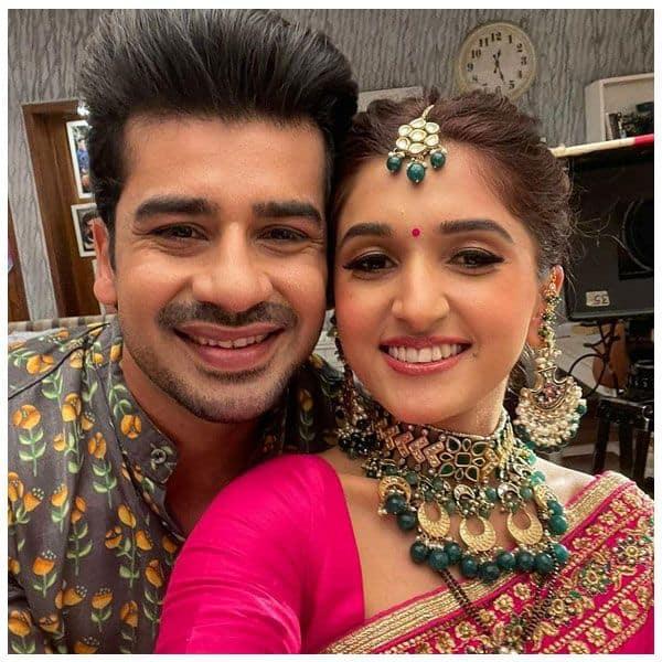 Kinjal and Toshu's selfies