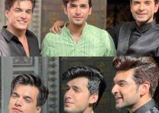 Mohsin Khan, Paras Kalnawat and Karan Kundrra's pictures will make you wish for a Yeh Rishta Kya Kehlata Hai-Anupamaa merge episode