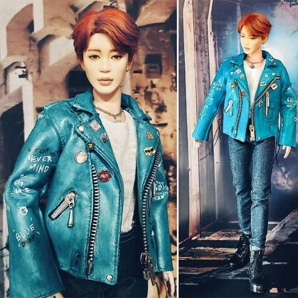 BTS Jimin's dolls