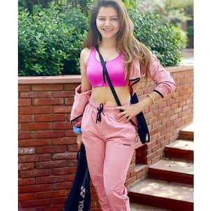 Bigg Boss 14 winner Rubina Dilaik looks chic in her pink gym look – view pics