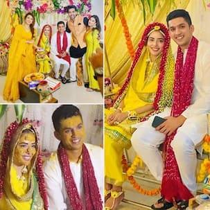 Divya Drishti स्टार Sana Sayyad ने हल्दी की रस्म में ओढ़ा फूलों से सजा दुपट्टा, निकाह का जश्न मनाने पहुंचे ये सितारे