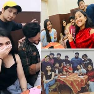 Indian Idol 12: पुराने दोस्तों से मिल खिलखिला गईं Arunita Kanjilal, Mohd Danish हुए इमोशनल तो Pawandeep Rajan ने हंसाया