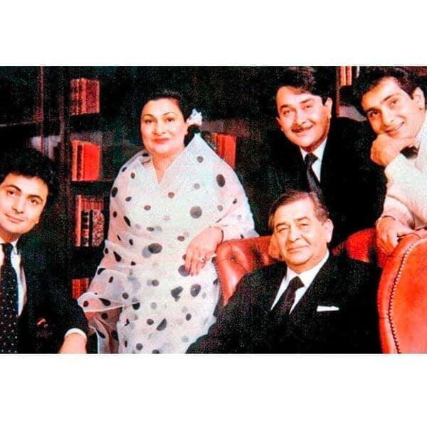 राज कपूर (Raj Kapoor) का परिवार