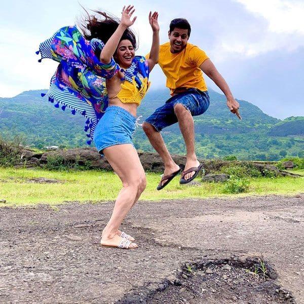 Aishwarya Sharma and Neil Bhatt's getaway