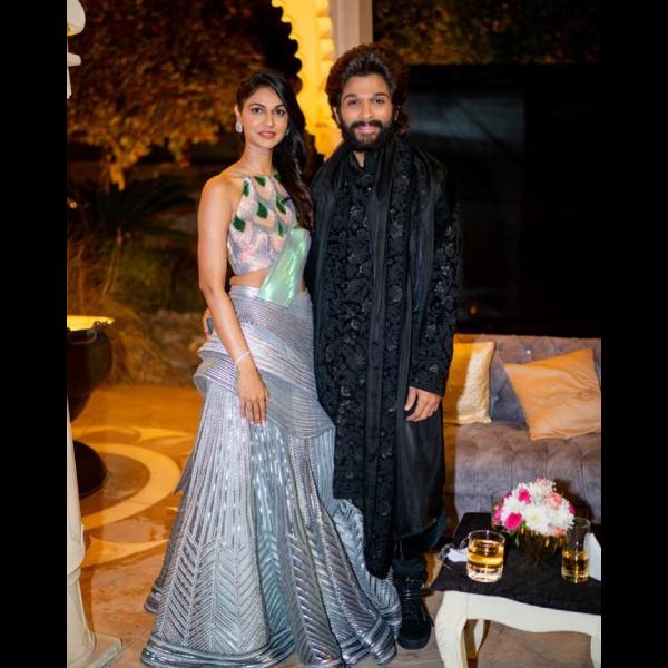 Allu Arjun's wife Sneha