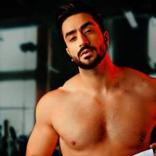 Aly Goni answers a media person about a red mark on his neck that looks like a love bite – watch video