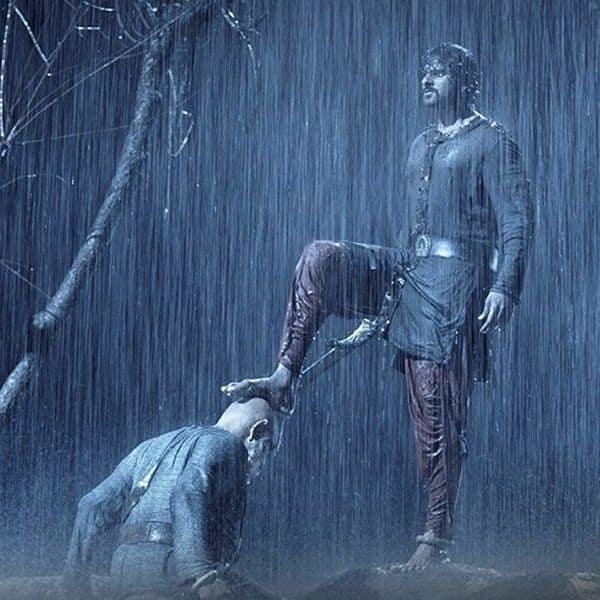Kattappa meets Shivu aka Mahendra Baahubali