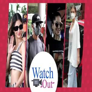 Sunny Leone और Mouni Roy ने आंखों पर काला चश्मा चढ़ाकर दिखाईं अदाएं, देखें Video