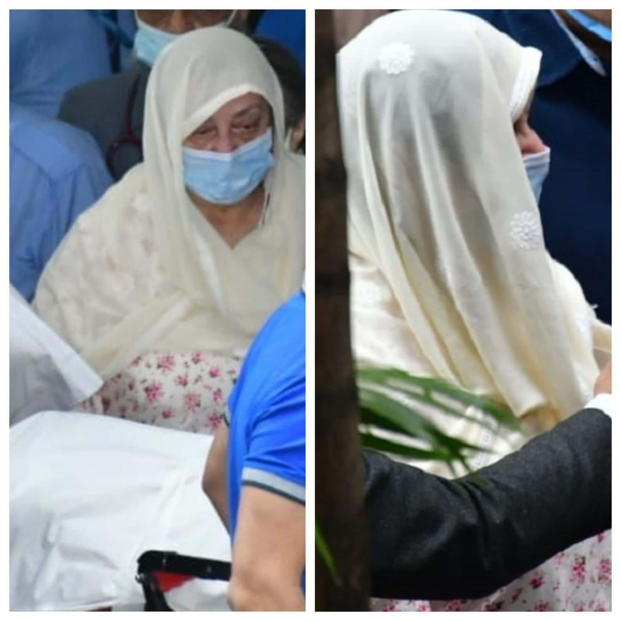 अस्पताल से Dilip Kumar का पार्थिव शरीर लेकर घर निकलीं Saira Banu