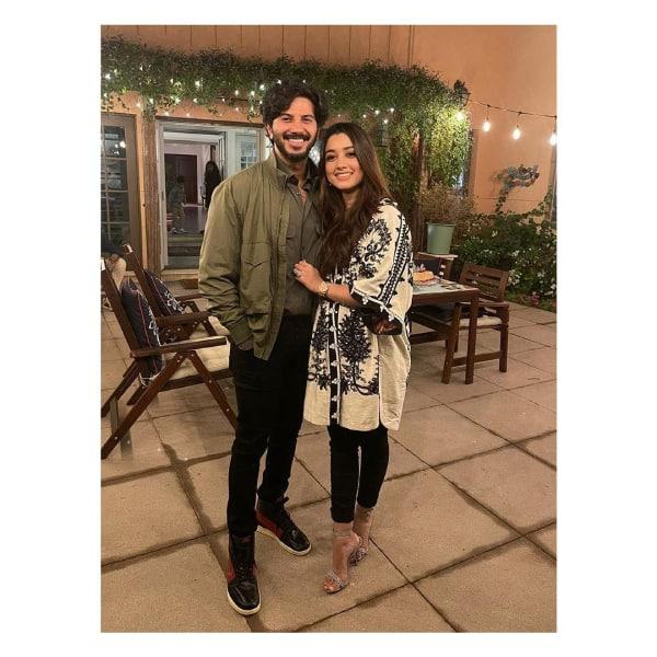 Dulquer Salmaan's wife Amal