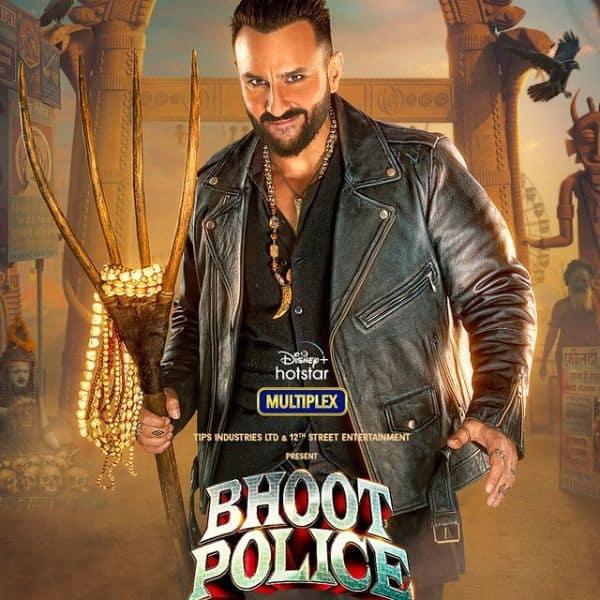 Bhoot Police: 'Feel 'Saif' with Vibhooti'; Kareena Kapoor Khan shares Saif  Ali Khan's cool ghostbuster look in the horror-comedy