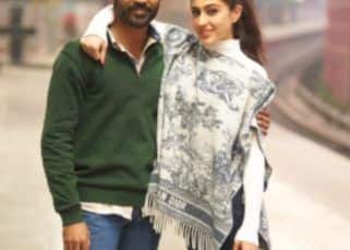 Sara Ali Khan pens a sweet note to wish her Atrangi Re co-star Dhanush on his 38th birthday; shares an uber cool pic