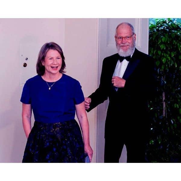 David Letterman and Regina Lasko