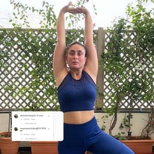 Kareena Kapoor Khan trolled for her yoga picture; netizens say 'buddhi ho gayi ho tum'
