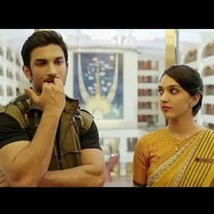 Security personnel asks Kiara Advani to take off mask to prove her identity; netizens are reminded of her scene with Sushant Singh Rajput from MS Dhoni