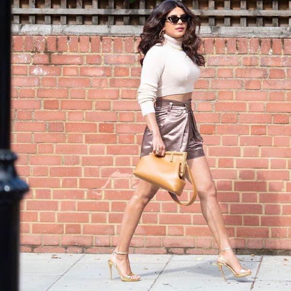 Guess the Price: SHOCKING! Birthday girl Priyanka Chopra's stylish Fendi purse costs as much as a BMW bike