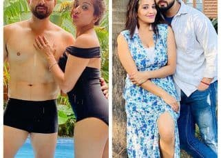 Monalisa ने रोमांटिक अंदाज में सेलीब्रेट किया पति का बर्थडे, देखें PICS