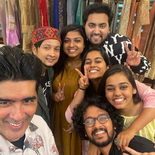 Top 6 contestants to wear Manish Malhotra's design