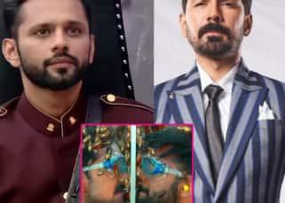 Khatron Ke Khiladi 11: Abhinav Shukla and Rahul Vaidya do a 'romantic' task; latter exclaims, 'Disha se bhi itna close nahi hua hoon' – Watch