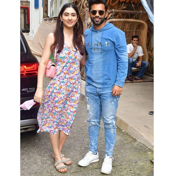 Rahul and Disha steal a date