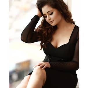 Rashami Desai's black dress is perfect for an intimate evening date – see pics